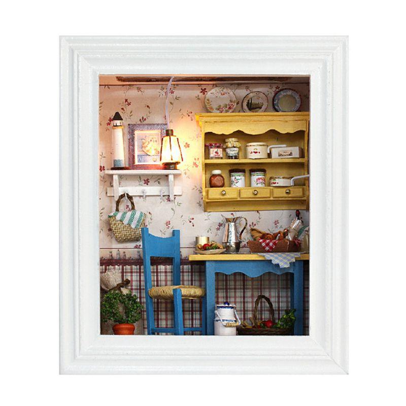 DIY Cottage Photo Frame Creative Valentine Day Gift Handmade Crafts