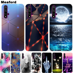 For Huawei NOVA 5T Case 2019 Cover Soft Silicone Back Cover Phone Case on For Huawei Nova 5T 5 T 6.26