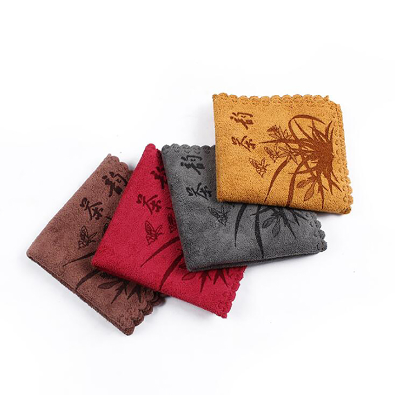 Tea Cloth Absorbent Strong Tea Napkins Tea Accessories Nice Gift Tea Towels Strong Water Absorption Special Towel