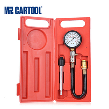 Mr Cartool G324 0 300PSI Compressie Motor Cilinder Tester Benzine Manometer Tester Kit Car Diagnostic Tool