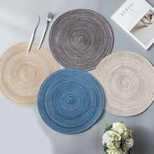 Placemats and Coasters Set of 6 Heat Resistant Non-slip Dining Table Mats for kitchen accessories artificial leather placemats non slip placemats bowls coasters waterproof table mats heat insulated table mats