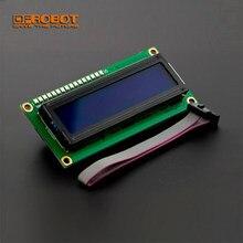 DFRobot I2C 16x2 1602 modulo Display LCD sfondo blu per Arduino Genuino UNO Leonardo Mega 101 Intel Curie Micro Nano