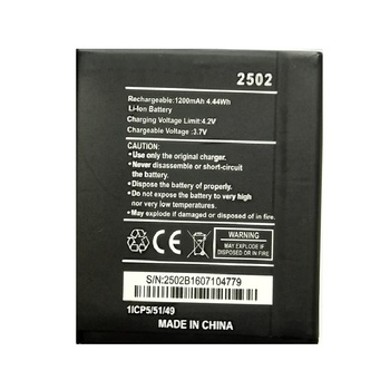 2502 Battery For WIKO 2502 SUNNY Mobile Phone battery Batteries
