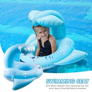 Asiento de natación inflable y seguro para bebés y niños, juguetes de piscina, flotador, anillo de natación, juguetes de agua, Círculo de natación