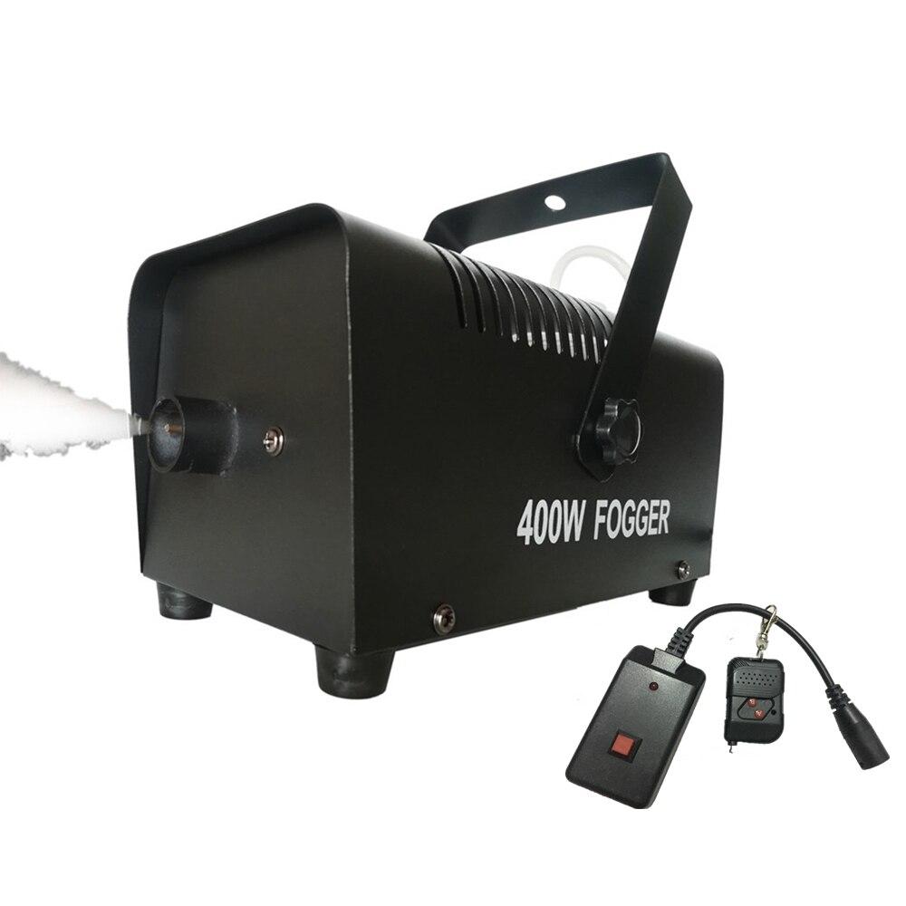 Mini Air Atomization Disinfection Machine/400W Wireless Remote Control Smoke Machine/Disco DJ Christmas Stage Fogger Equipment