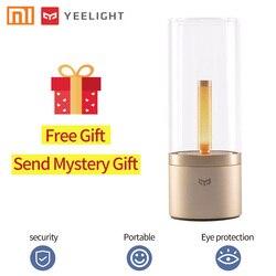 Yee светильник, умный светильник Candela, светильник в виде свечи, светодиодный Ночной светильник, настольная лампа, Регулируемая лампа для чтен...