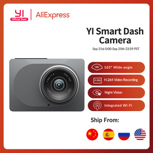 "Image 1 - YI Smart Dash Camera 2.7"" Screen Full HD 1080P 165 degree Wide Angle Car DVR Vehicle Dash Cam with G Sensor Night Vision"