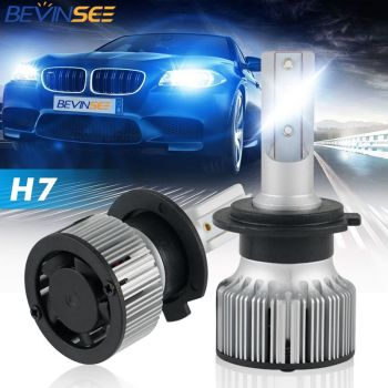 Bevinsee F31C CPS LED H7 H4 H1 Headlight Bulbs Auto 10000LM 60W H8 H9 H11 9005 HB3 9006 HB4 Car Led Lamps Fog Lights Bulb image