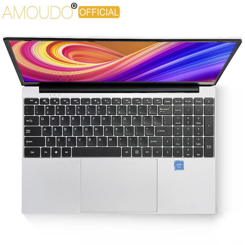 AMOUDO 15,6 zoll Gaming Laptop Intel Core i7-4th 8GB RAM 256 GB/512 GB SSD 1920*1080P FHD Win10 System Ultradünne Notebook Computer