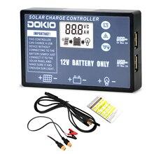 Солнечная панель DOKIO складная, USB контроллер для солнечных батарей 12 В, 10 А/20 А