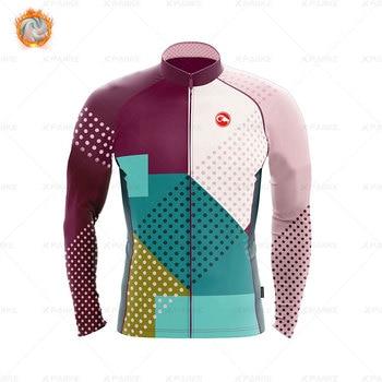 2020 velo de inverno pro conjunto camisa ciclismo mountian bicicleta roupas wear ropa ciclismo corrida roupas ciclismo conjunto 9