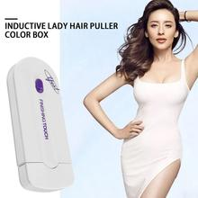 Electric Inductive Hair Epilator Women Portable USB Rechargeable Removal Shaver Legs Whole Body Depilator Remover