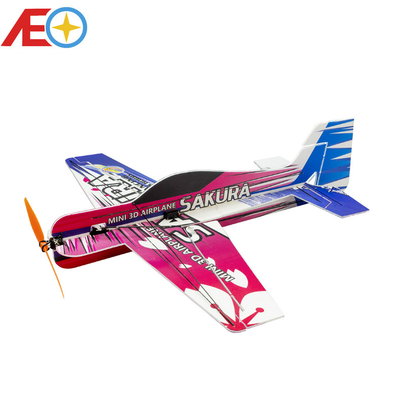 New PP Magic Board Micro 3D Indoor Airplane SAKURA Lightest plane KIT RC airplane RC MODEL HOBBY TOY HOT SELL RC PLANE image