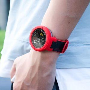 Image 5 - سيليكون حزام الساعات شريط للرسغ سوار المضادة للخدش ساعة الغطاء الواقي ل Huami Amazfit Verge ساعة ذكية اكسسوارات