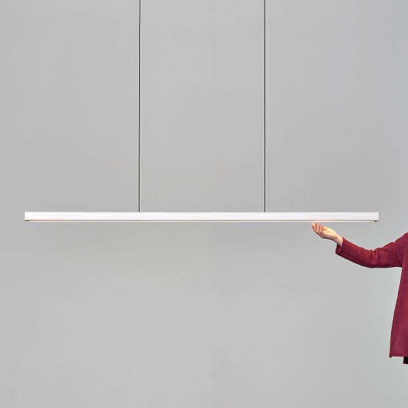Nordic Designer Art Wooden LED Pendant Iights Lighting Modern Office Simple Pendant Lamp Restaurant Kitchen Lamp Light Fixtures