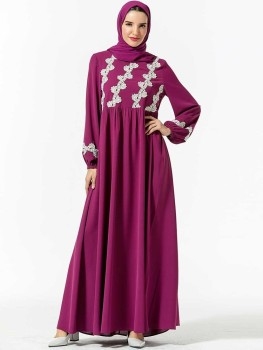 Muslim Hijab Fashion Abaya Dress Islamic Dresses Dubai Caftan Arabe Moroccan