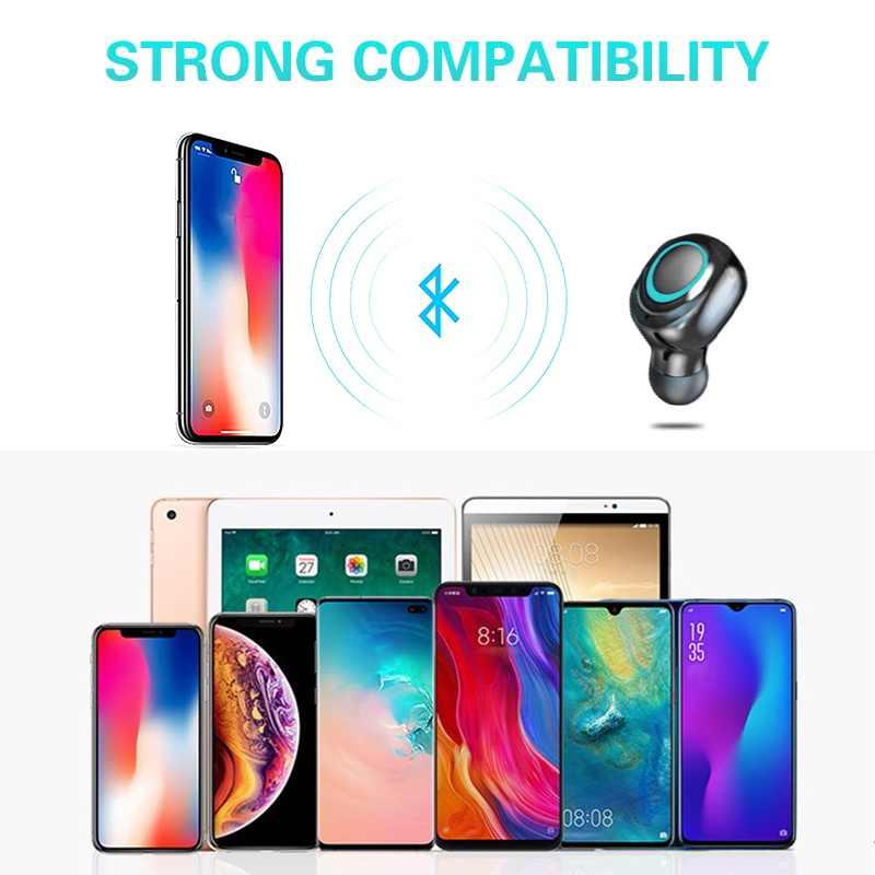 Tai Nghe Bluetooth Chụp Tai Dành Cho Samsung Galaxy Samsung Galaxy S10 5G S10e S9 Plus S8 S7 S6 Edge S5 S4 S3 Mini Note 9 8 5 4 3 2 Tai Nghe không dây Tai Nghe Nhét Tai