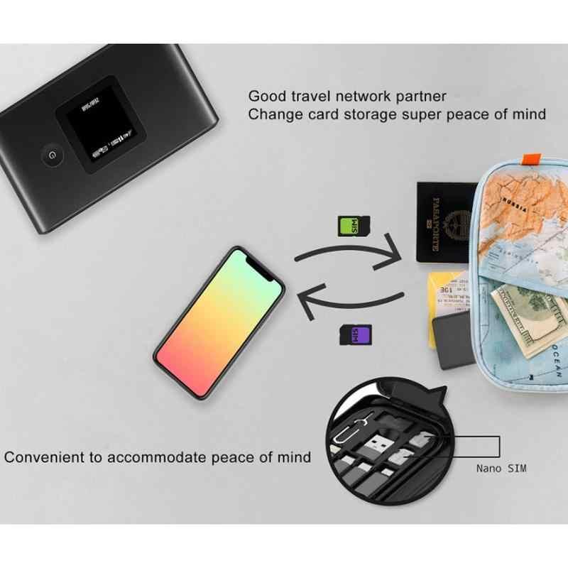 Inteligentny uniwersalny 5000mAH power bank ładowarka wielofunkcyjny kabel do transmisji danych pudełko kartonowe USB dla Iphone adapter/Huawei /Xiaomi V1O2