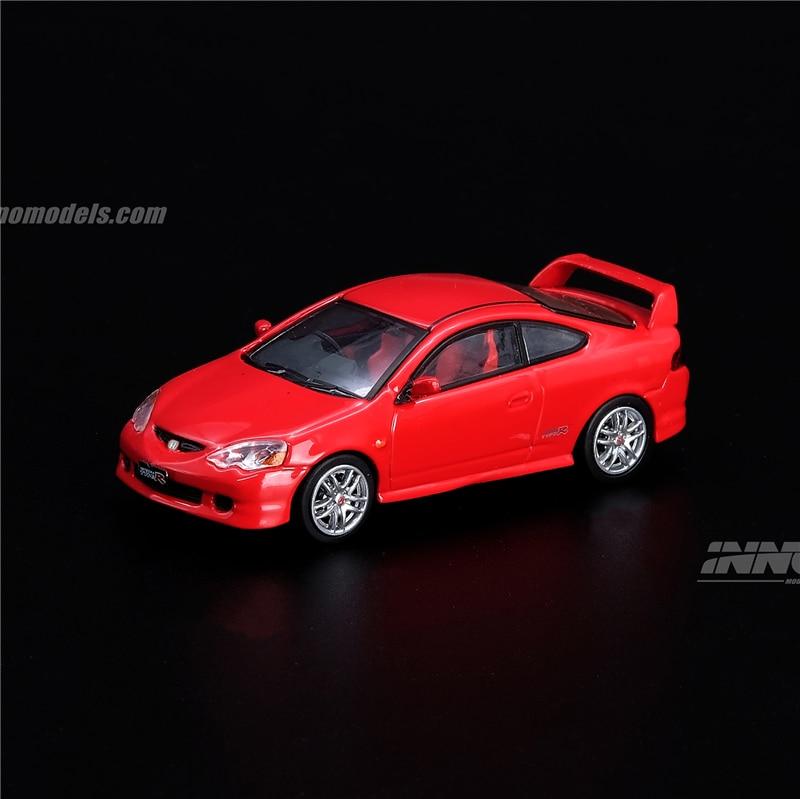 INNO 64 Scale 1/64 Honda Integra Type R DC5 Red Die-cast Model Car