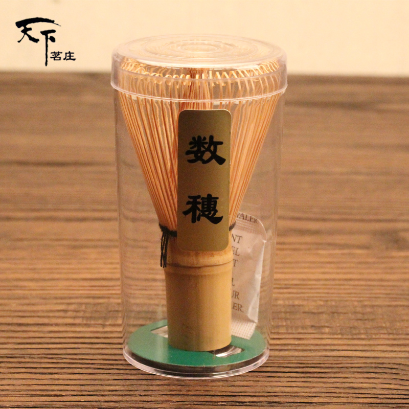 [GRANDNESS] Kazuho White Bamboo Chasen 72 * Matcha Whisk Japanese Ceremony Bamboo Chasen Whisk For Preparing Green Tea Matcha