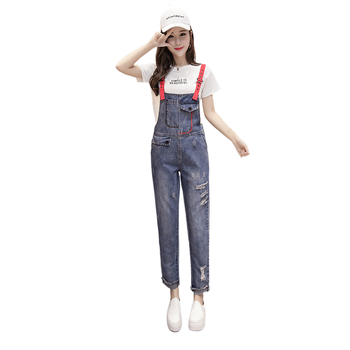 цена Jeans for Women Egirl Clothes Cotton Harajuku Jeans Womens Clothing Aesthetic Jeans Mom Jeans  High Waisted Jeans  Korean  Style онлайн в 2017 году