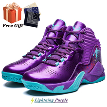 Shoes Basketball-Shoes High-Top Street New Fashion Non-Slip Breathable Wear-Resistant