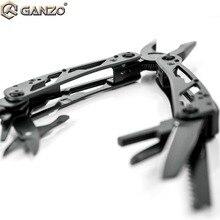 Ganzo G202B MultiTools set Klapp Zangen Fischerei Camping Überleben EDC Bits Getriebe crimper Tasche Messer Zange draht cutter stripper
