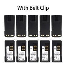 10X Two-Way Radio Battery for Motorola PMNN441 PMNN4415 PMNN4416 PMNN4417 PMNN4418,fits DP2400 DP2600  XIR P6600