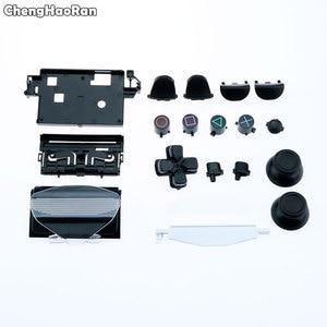 Image 5 - ChengHaoRan Voll Shell mit Tasten Mod Kit Für Sony PS4 Pro Schlanke 4,0 V2 JDS 040 JDM 040 Controller Gehäuse Shell fall Abdeckung