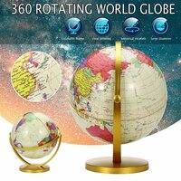 25 سنتيمتر كرة أرضية العالم الكبير خريطة الجغرافيا غلوب لسطح المكتب الديكور التعليم المنزل مكتب المعونة المنمنمات الاطفال هدية