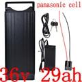 500 Вт 1000 Вт 36В 30ач батарея для электрического велосипеда 36В 12Ач 15ач 17ач 20ач 23ач 26ач 29ач 32ач литиевая батарея для использования panasonic cell