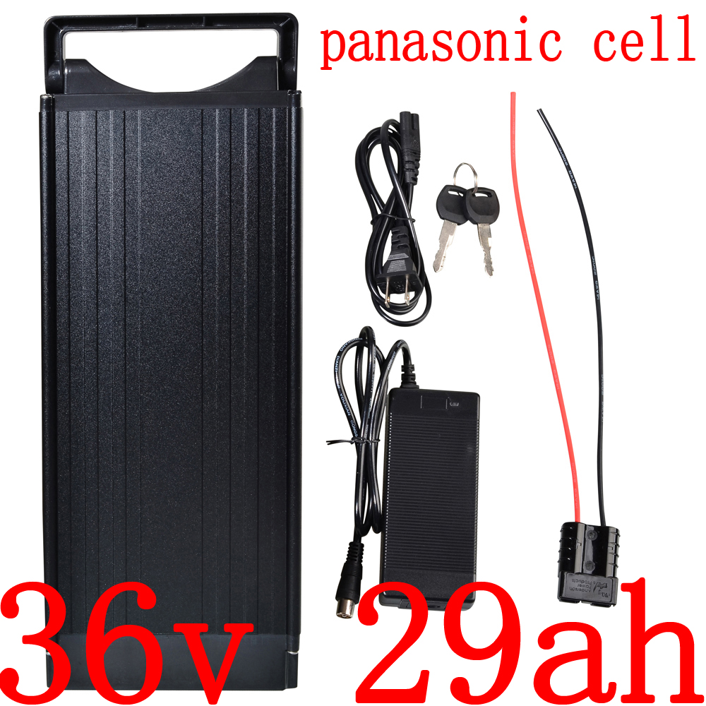 500W 1000W 36V 30AH Electric Bike Battery 36V 12Ah 15Ah 17Ah 20Ah 23Ah 26Ah 29Ah 32Ah lithium battery battery use panasonic cell|Electric Bicycle Battery|Sports & Entertainment - title=