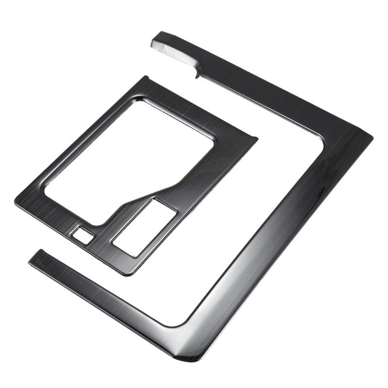 Stainless Steel Gear Trim Cover for Toyota Land Cruiser Prado 150 FJ150 LC150 2018 Car Accessories|Transmission Rebuild Kits| |  - title=