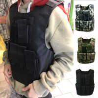 Conjunto de uniforme militar de combate para niños, chaleco táctico, armadura de camuflaje, Tops, soldado del Ejército de los Estados Unidos, trajes de fuerzas especiales