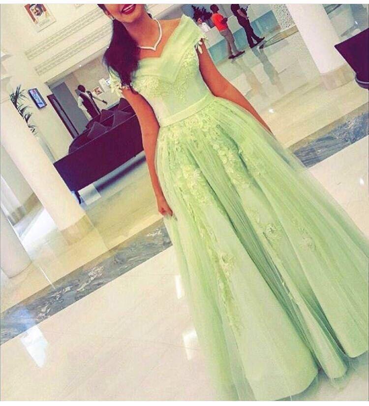 Vestido De Festa Largos Elegant Floral Bead Appliques A-line Floor Length Long V Neck Evening Gown Mother Of The Bride Dresses