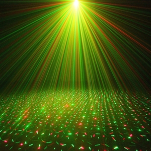 Image 5 - Mini LED Laser Projector Stage Light Effect Strobe Lazer Show Party Stage Soundlights DJ Disco Xmas Party Colorful Lamp 110 220V