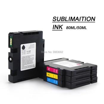 Misee GC41 Sublimation Ink for Ricoh Sawgrass SG400 SG800 SG400NA/EU SG800NA/EU Ink Cartridge Compatible 80/50ML