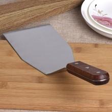 Лопатка для пиццы с большой деревянной ручкой тертый пирог Teppanyaki лопатка для стейков кухонный инструмент для приготовления пищи
