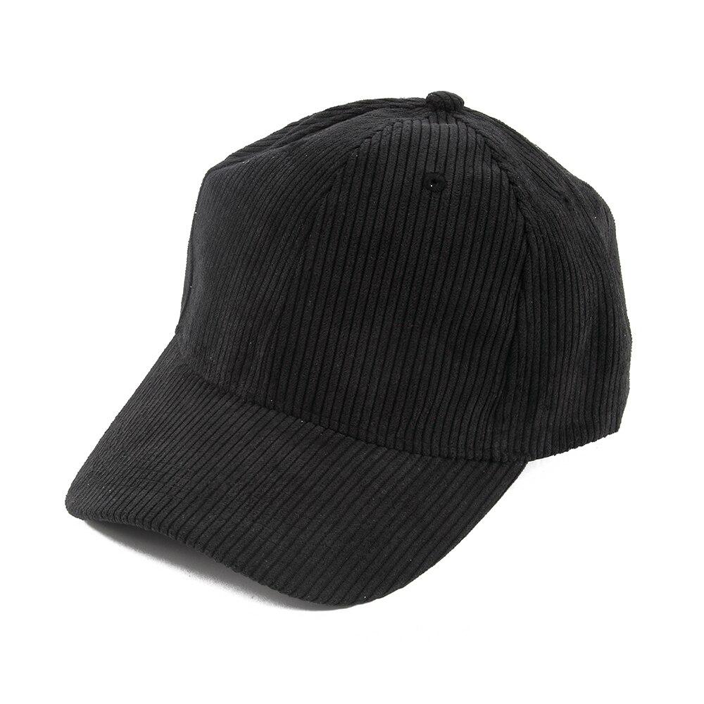 FOXMOTHE nowa jesienno-zimowa regulowana czarna beżowa zwykły kolor sztruksowe czapki baseballowe czapki tirówki damskie męskie