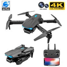 Echoer S89 Drone 4K Wifi FPV HD Dual Camera 50x Zoom Height Maintain Headless Mode One-Key Takeoff And Landing Rc Quadcopter