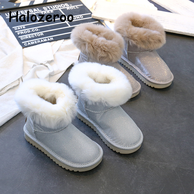 winter-new-kids-fur-snow-boots-baby-girls-warm-shoes-children-glitter-mid-calf-boots-boys-gold-brand-boots-fashion-sequin-shoes