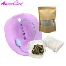 1 zestaw higieny kobiecej Yoni zdrowie pochwy naturalne ziołowe pochwy Steam Yonisteam Bidet 100% chińskie zioła Detox Steam