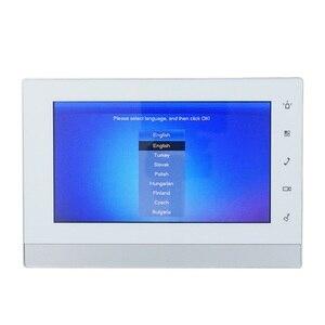 Image 4 - DH многоязычный VTH1550CH 7 дюймовый сенсорный внутренний монитор, монитор ip звонка, видеодомофон, Версия прошивки SIP