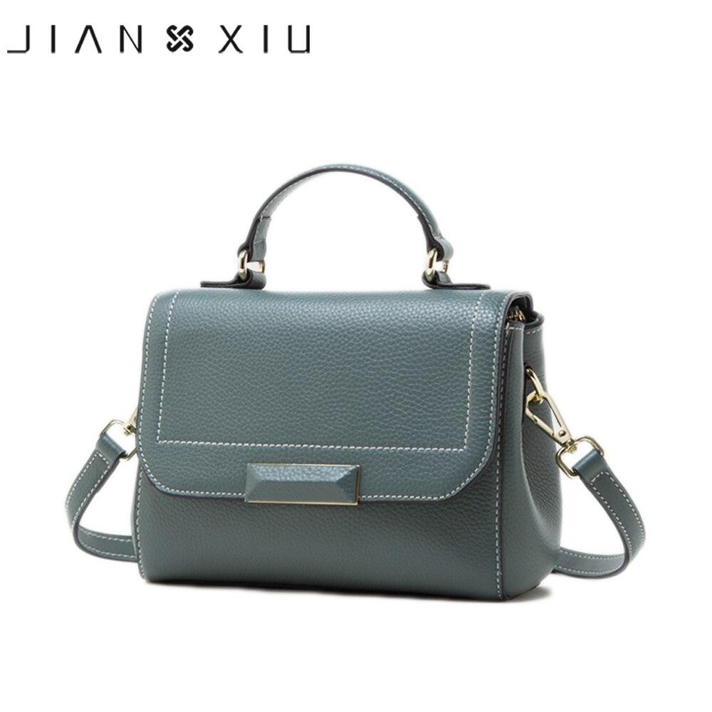Бренд JIANXIU, Сумки из натуральной кожи, женские сумки мессенджеры с текстурой личи, сумки известных брендов, 2019, сумка через плечо, 2 цвета