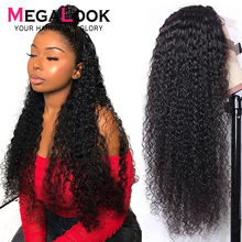 Kinky Curly Wig 4X4 13 #215 4 13 #215 6 lace front Wig Brown Lace Wig Brazilian Wigs Human Hair Wig Kinky Curly Lace Front Human Hair Wig tanie tanio megalook Medium Lace Front wigs Remy Hair Half Machine Made Half Hand Tied Swiss Lace 1 Piece Only Light Brown Brazilian Hair
