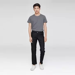 Image 2 - Xiaomi klasik siyah erkek kot pamuk Smith rahat ince düz kotlar streç kot pantolon bahar sonbahar erkek pantolon
