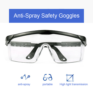 Image 3 - Protective Safety Glasses Work Anti Dust Anti Fog Windproof Anti Dust Saliva Transparent Goggles Eye Protection