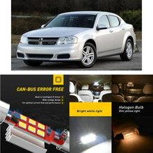 LED Interior Car Lights For Dodge avenger caliber colt dakota intrepid magnum nitro Dome map lamp bulb error free