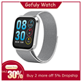 Gofuly m98 relógio inteligente para android ios esportes fitness calorias pulseira wear smartwatch monitor de freqüência cardíaca feminino relógio inteligente #30