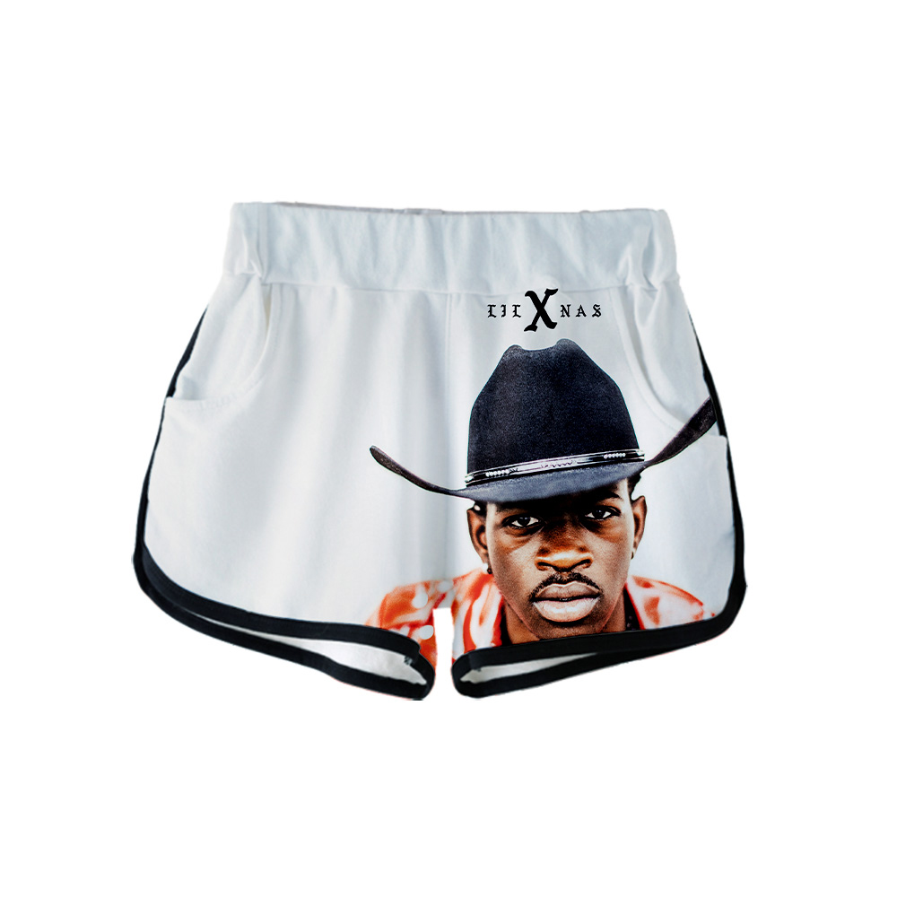 3D Lil Nas X New Clothes 2020 Casual 3D Print Women summer sexy shorts 2020 Casual Cool Ladies Hot top sale Shorts Plus Size xxl